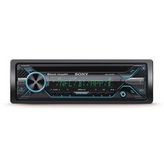 Sony Car Audio Single DIN CD Player Stereo Receiver with Bluetooth | MEXN5200BT