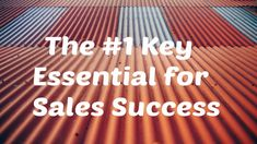 Boost your sales results with this key essential for success