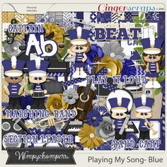 Playing My Song- Blue