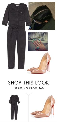"""""""Untitled #2672"""" by outfitstowear ❤ liked on Polyvore featuring Christian Louboutin"""