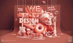 Uso creativo della tipografia: ottimi esempi da cui prendere spunto