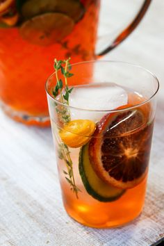 A light, citrusy, refreshing and vibrant orange sangria that is perfect for kicking off the summer at your next barbecue or picnic on the beach.