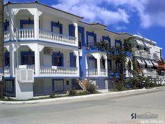 Virozi Apartmanház (#Sarti, #Sithonia, Észak-Görögország) #greece #szállás #apartman #halkidiki Apartments, Mansions, House Styles, Home Decor, Decoration Home, Manor Houses, Room Decor, Villas, Mansion