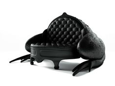Spanish designer Maximo Riera didn't stop his stunning Animal Chair Collection and right after Whale Chair and Elephant Chair has added to it another two pieces: Toad Sofa and Beetle Chair. Art Furniture, Funky Furniture, Unique Furniture, Cheap Furniture, Furniture Design, Playhouse Furniture, Painted Furniture, Sofa Design, Interior Design