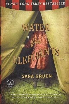 Water for Elephants by Sara Gruen - great book & loved the movie even more!