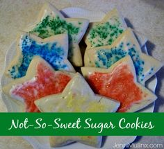 Not So Sweet Sugar Cookie (Easy No-Chill Recipe) | Live Called / #EverydayConfetti