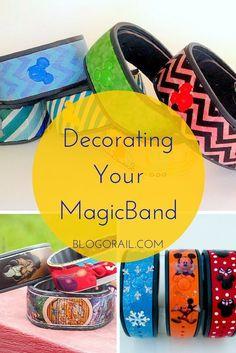 Decorating Your MagicBand | The Blogorail | Disney Crafts | Disney DIY | #DisneySide