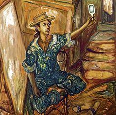 * Self-portrait of Danilo Dalena -  Mr. Dalena was my professor at the Far Eastern University, when I cross-enrolled there.