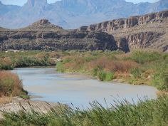"""""""Rio Grande River in Big Bend National Park, Texas"""": Was at Big Bend last March, absolutely gorgeous!"""