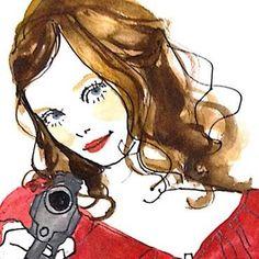 """まだぢ学4粘性ながらにしてイラストレーターとして活躍中の""""土屋みよ""""さん。彼女の描く女の子のイラストは、淡くてかわいらしいタッチで描かれているにも関わらず、女の子が憧れるような強い目をしているんです*みよさんの素敵な世界をちょっぴり覗いてみましょう…♡"""