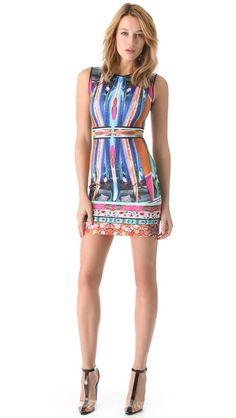 Clover Canyon Long Board Neoprene Dress
