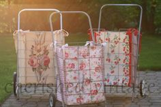 cherished*vintage: Not Your Granny's Cart Anymore - so cute!!