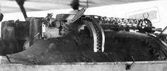 Spandau machine guns from a Fokker D VII