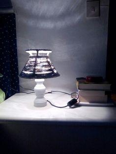 restauro  di una vecchia  lampada