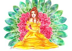 princess watercolor - Αναζήτηση Google