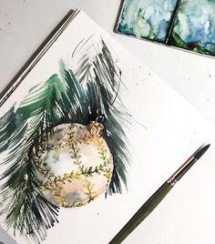 Watercolorist: @anna_pole    #waterblog #акварель #aquarelle #drawing #art #artist #artwork #painting #illustration #watercolor #aquarela
