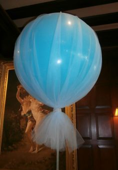 oversized balloons and tulle - Google Search