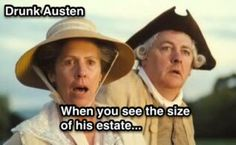 Pride and Prejudice with memes – Drunk Austen Pride & Prejudice Movie, Pride And Prejudice And Zombies, Humor, Jane Austen Movies, Mr Darcy, Drama Memes, Great Memes, Best Novels, Classic Literature