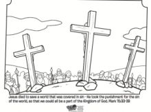 Good Friday Catholic Coloring Page  Jesus is arrested  Lent