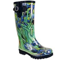 Nomad Puddles Irises Rain Boots — Seasons by Design specialty shop, 2605 Ford Drive, New Holstein, WI 53061. 920-898-9081 follow us on Facebook seasonsbydesigngifts@yahoo.com