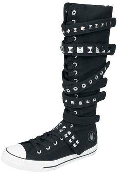 EMP Black Premium #Zapatillas #Botas #negro #Studs #rockStyle 100% - Exclusivo EMP EMP Online España • Tienda Rock, Heavy Metal, Gótica y Alternativa > Catálogo Online http://emp.me/6mn