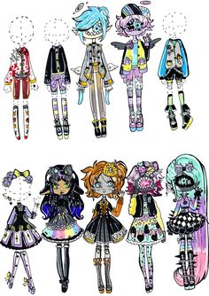 CLOSED - PP clothes by Guppie-Adopts on DeviantArt