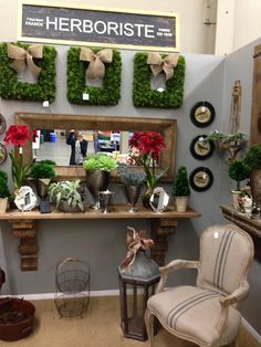 Designer Flower Center at the Fresno Fall Home Improvement Show, November 8,9,10, 2014