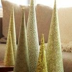 Image detail for -Awesome Paper Cone Tabletop Christmas Trees