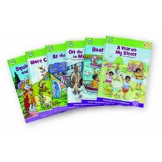 LeapFrog Tag Learn To Read Phonics Book Set 4: Advanced Vowels