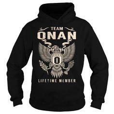 Team ONAN Lifetime Member - Last Name, Surname T-Shirt