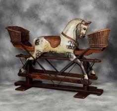 Image detail for -Antique Collinson Rocking Horse