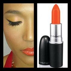 Orange Crush. Make Up for Judith Hill by Kristene Bernard