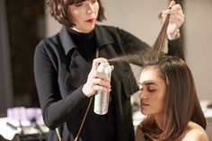 A light mist of our beloved Air Control hairspray helps keep your style in place while delivering light, workable hold.