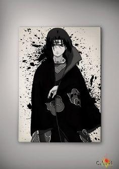Naruto Shippuuden Uchiha Itachi Watercolor Print 8x10 Archival Print - Art Print - Wall Decor Art Poster- Anime Print- Manga -Cartoon on Etsy, 62,25zł
