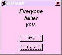 I know and it's okay..cuz