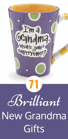 Adorable new grandma gifts - perfect for a new grandmother's first Mother's Day or Christmas!