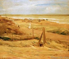 Max Liebermann - Promenades in the dunes