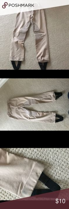 Girls Riding Pants Girls Horseback Riding Pants Great for lessons and pony shows Barely Worn Size XS 6 Bottoms