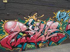 awesome Rime & Ewok Exchange MSK AWR HM T7L LosAngeles Graffiti Art