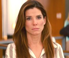 Sandra Bullock in the Proposal, like how one side mimics the other