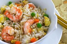 Shrimp Fried Rice: Try our delicious versions of these dishes at Sacramento, CA's Hing's Chinese Restaurant: http://hingsmadison.com/