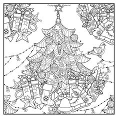 Christmas Traditions Adult Coloring Book With Bonus Relaxation Music CD Included Color