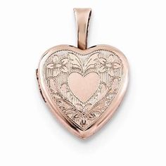 NEW-ROSE-GOLD-OVER-925-STERLING-SILVER-HEART-WINGS-LOCKET-PENDANT-45-TWO-FRAME