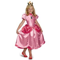 Picture of Super Mario Brothers Deluxe Princess Peach Costume