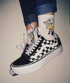 Find images and videos about aesthetic, shoes and outfits on We Heart It - the app to get lost in what you love. Aesthetic Shoes, Aesthetic Clothes, Sock Shoes, Vans Shoes, Shoes Sneakers, Footwear Shoes, Winter Chic, Cute Socks, Dream Shoes