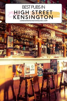 Guide to the best High Street Kensington pubs. Cool gastro pubs in High Street Kensington great for lunch, dinner and evening drinks. | Pubs Near High Street Kensington | Pubs Near Kensington High Street | Pubs In High Street Kensington | Pubs High Street Kensington | Pubs High Street Kensington London | High Street Kensington Pubs London What To See, Things To Do In London, Europe Travel Guide, Travel Guides, Travel Destinations, Best Pubs, Kensington London, Scotland Travel, London Travel