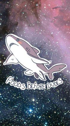 Food before dudes lol