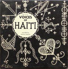 """Maya Deren's recordings of voudoun ceremonies (released on 10"""" LP record by elektra, 1953)"""