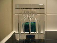 Oiva Toikka Art Glass Annual Cube 1990 Nuutajärvi Iittala Finland!!