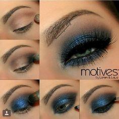 Drama smokey eye makeup #tutorial #evatornadoblog